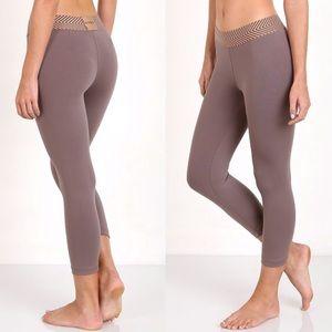 Olympia Activewear Kore 3/4 Length Legging Clay